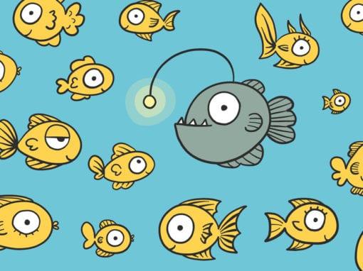 Stoffenpatroon vissen